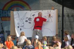 Show med Øisteins Blyant på familiedagen 2012