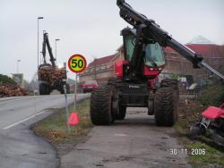 Anleggsvirksomhet preger parkbildet vinteren 2006/7